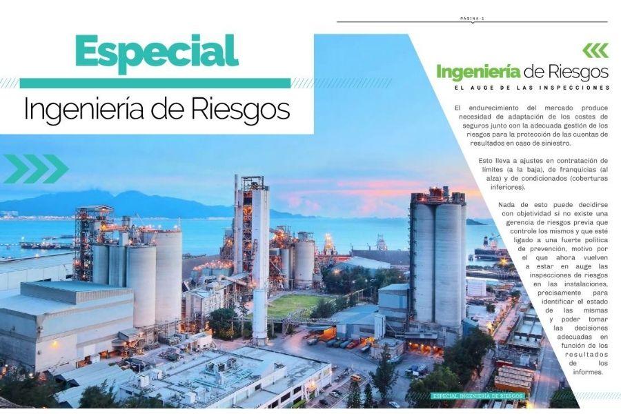 """¿Has leído el """"Especial: Ingeniería de Riesgos"""" de nuestra revista?"""