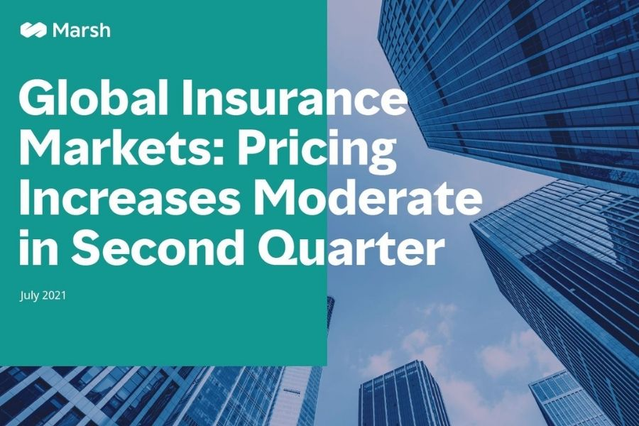 Índice Global del Mercado de Seguros Q2, 2021. Marsh