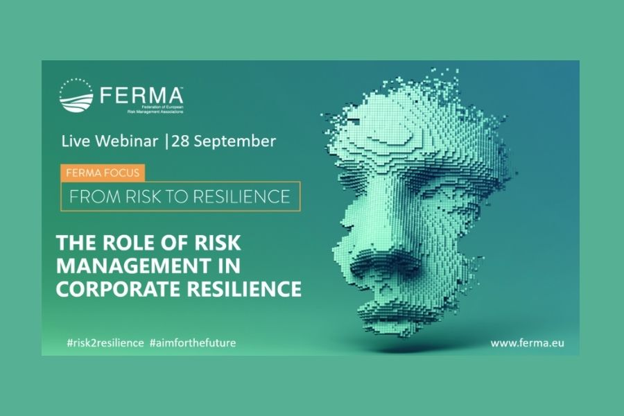 """Webinar de FERMA: """"The role of risk management in corporate resilience"""""""