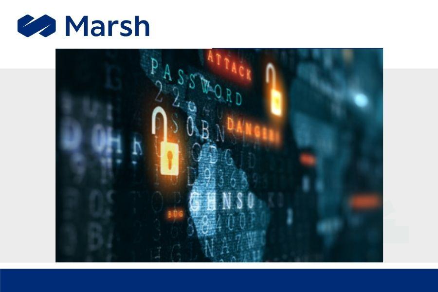 """MARSH: """"5 tipos de ataques cibernéticos: Casos, consecuencias y soluciones"""""""